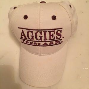 White Texas A&M baseball cap